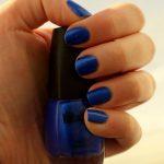 Super Dooper Blue nail polish!